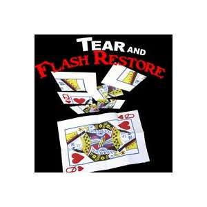 & Flash Restore Jumbo Card Magic Trick Visual Toys