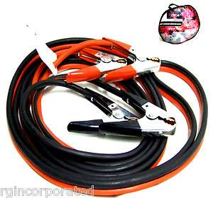 FT 2 Gauge Booster Cable Jumping Cables Power Jumper Heavy duty