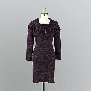 Cowl Neck Sweater Dress  Ronni Nicole Clothing Womens Dresses