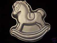 1984 Wilton ROCKING HORSE Pony Toy Birthday Cake Pan