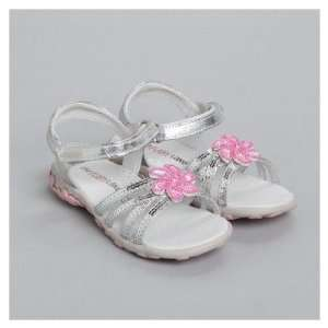 One Ruby Lane Olivia   Silver Girls Olivia Sandals Baby