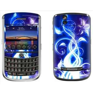 Blue Skin for Blackberry Tour 9630 Phone Cell Phones & Accessories