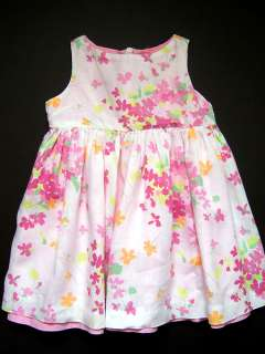 Girls Baby Gap Lavender Flowers Dress 18 24 mos Church