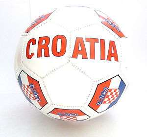 Croatia Soccer Ball / Croatia Flag