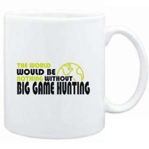 Mug White  The wolrd would be nothing without Big Game Hunting