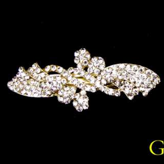 ADDL Item , 1pc rhinestone crystal butterfly hair