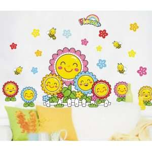 Reusable Decoration Wall Sticker Decal Wall Decor   Smile