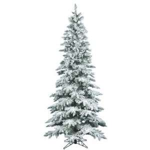 Christmas Tree   Flocked Utica Fir   A895075
