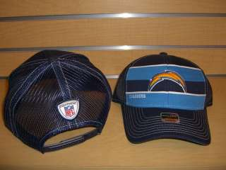 Womens SAN DIEGO CHARGERS Player Trucker Snapback Hat