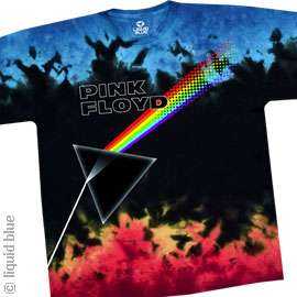 New PINK FLOYD Us And Them Tie Dye T Shirt