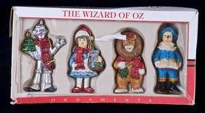 Kurt Adler Santas World WIZARD OF OZ 4.5 Ornaments Box Set