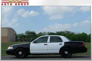 2009 Crown Victoria Police Interceptor Exceptionally Nice