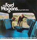 1972 Ford Station Wagon Brochure FordTorino/Pin​to+++
