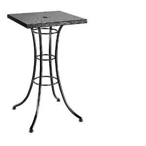 HomeCrest Embossed Square Bar Table Patio, Lawn & Garden