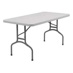 Blow Molded Rectangular Folding Table   30 X 60