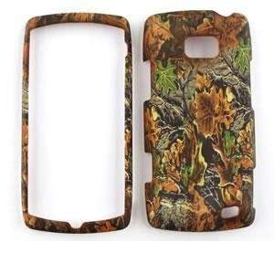 LG ALLY VS740 Brown & Green leaves CAMO CAMOUFLAGE HUNTER