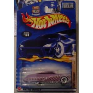 2002 107 Hot Rod Magazine PURPLE PASSION 1/4 164 Scale Toys & Games