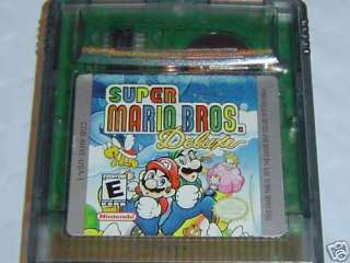 SUPER MARIO BROS.1 dx~Game boy COLOR/Advance/SP~DELUXE 045496730925