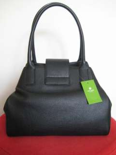 NWT KATE SPADE BEXLEY ANISHA PURSE BAG BLACK LEATHER