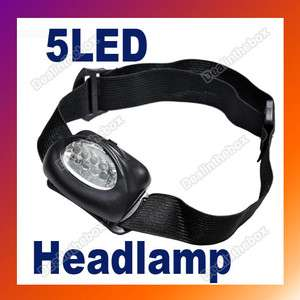 LED white Hiking Headlamp Flash Light Super Bright
