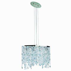 Hampton Bay Niagara 4 Light 88 In. Chrome Chandelier 12892 051 at The
