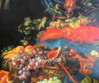 Original Oil painting still life artGrapeon canvas 36x48