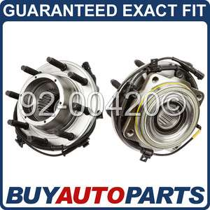 PAIR NEW FRONT WHEEL HUB BEARINGS FORD SUPERDUTY 4X4