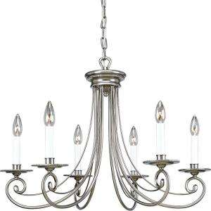 Progress Lighting Bradford Collection Antique Nickel 6 light