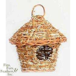 Prevue Pet Products Thatched Hut Bird Nest