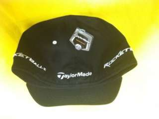 NEW 2012 TaylorMade RBZ HIGH CROWN Rocketballz Fitted Hat BLACK L/XL