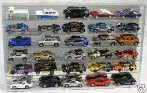 Hot Wheels 164 Model Cars Display Case Holds 30   New