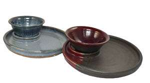 Mountain Arts Pottery Snack Tray & Serving Bowl ET00057