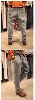 MENS CASUAL DRAWSTRING WAIST HAREM PANTS MF1572