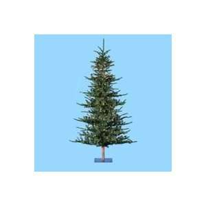 Lit Alpine Artificial Christmas Tree   Clear Lights