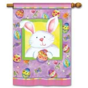 Easter Bunny House Flag Toys & Games