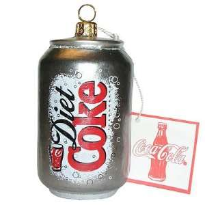 Coca Cola Diet Coke Can Polonaise Christmas Ornament AP1014DC