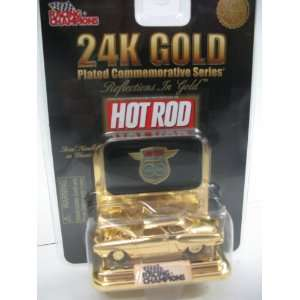 Hot Rods 24K Gold Commemorative 164 1950 Ford Victoria Coupe  Toys