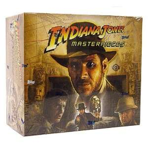 Indiana Jones Masterpieces Edition Trading Cards Box 24 Packs Toys