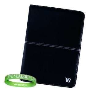 VG BLACK Melrose Kindle Leather Cover for  Kindle 2nd Generation