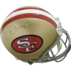 Autographed/Hand Signed San Francisco 49ers Authentic Helmet light