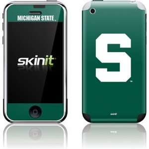 Michigan State University S skin for Apple iPhone 2G