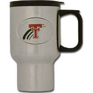 Texas Tech Red Raiders Stainless Steel Travel Mug Sports