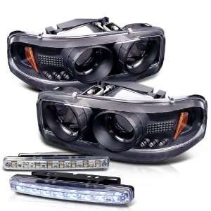 Yukon Sierra Denali Projector LED Head Light+led Bumper Automotive