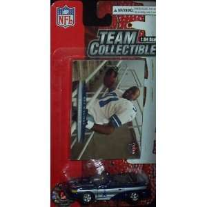 Dallas Cowboys NFL Diecast 2003 Ford Mustang with Roy Williams Fleer