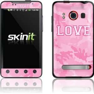 Pink Camo Love skin for HTC EVO 4G Electronics