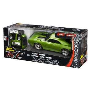 Green Daytona Dodge Charger Radio Control