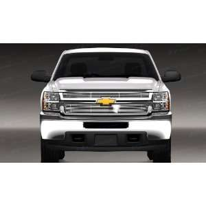 Chevy Silverado HD Chrome Billet Top Grille 2007 2010