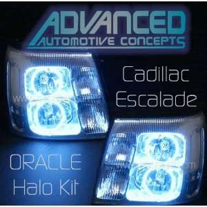 06 Cadillac Escalade Oracle CCFL Halo Ring Kit for Headlights   White