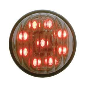 (1) Red 2 9 LED Truck Trailer RV Semi Marker Lights Automotive