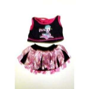 Diva Girl Outfit Teddy Bear Clothes Fit 14   18 Build a